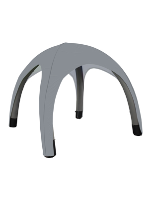 Inflatable Tent Canopy - Light Grey