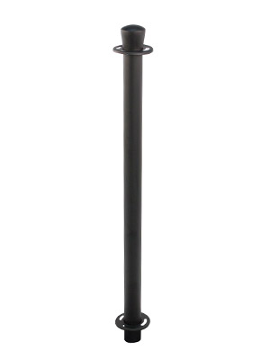 Basic Cafe Barrier Post Black