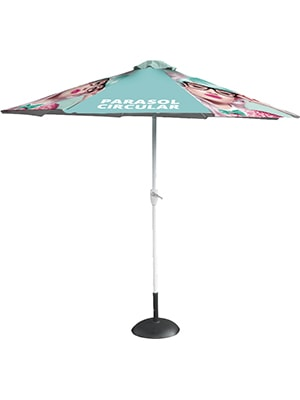 Sunrise Circular Parasol Frame with optional canopy & base