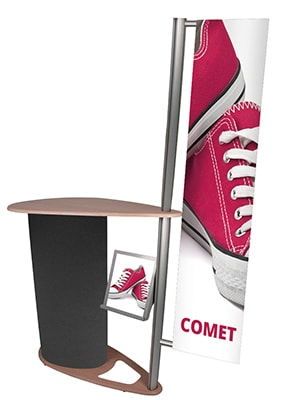 Comet with Optional Integral Banner